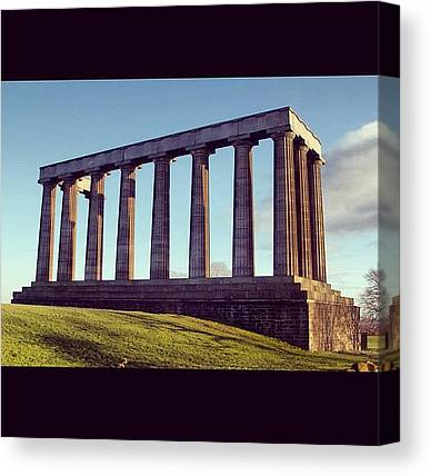 Bagpipes Canvas Prints