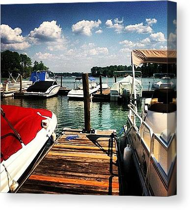 Pontoon Canvas Prints