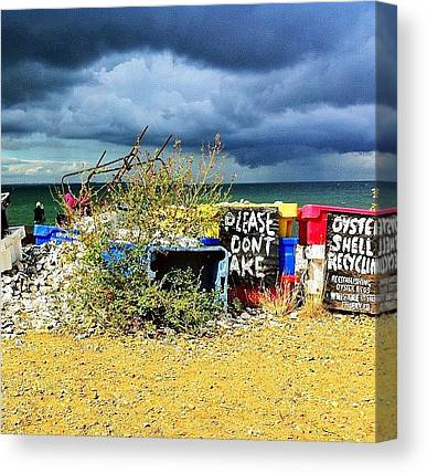 Oysters Canvas Prints