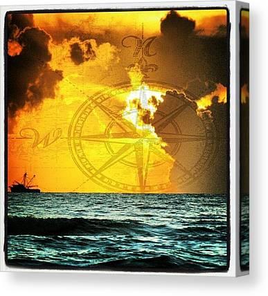 Ocean Sunrises Canvas Prints