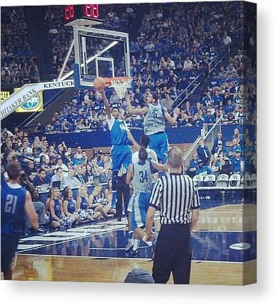 University Of Kentucky Canvas Prints