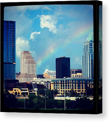 Austin Skyline Canvas Prints