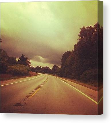 Rainclouds Canvas Prints