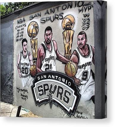 Spurs Canvas Prints