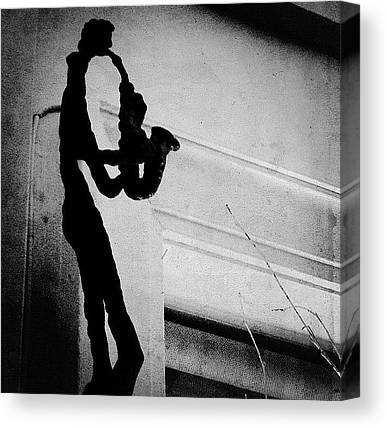 Saxophones Canvas Prints