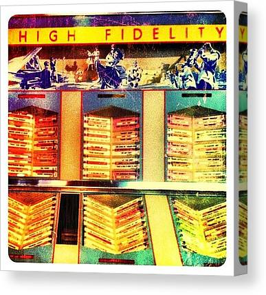 Jukebox Canvas Prints