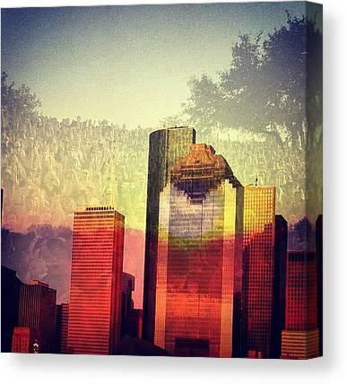 Houston Skyline Canvas Prints