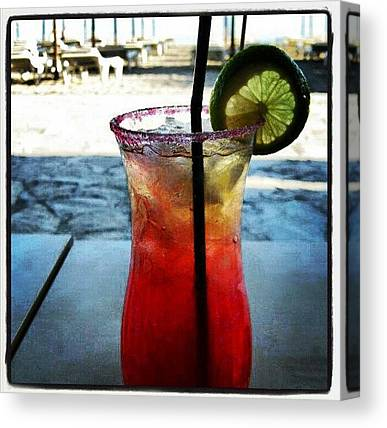 Tequila Sunrise Canvas Prints