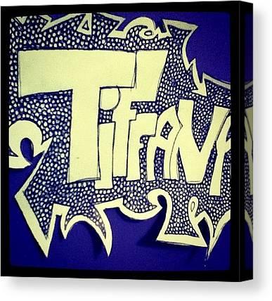 Word Art Canvas Prints