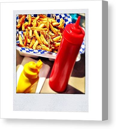 Ketchup Canvas Prints