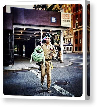 Ghostbusters Canvas Prints