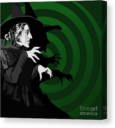 Witch Canvas Prints