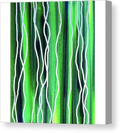 Line Canvas Prints