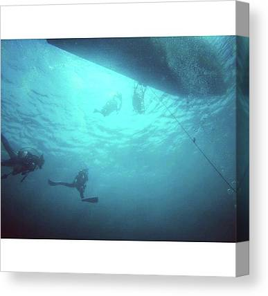 Underwater Caves Canvas Prints