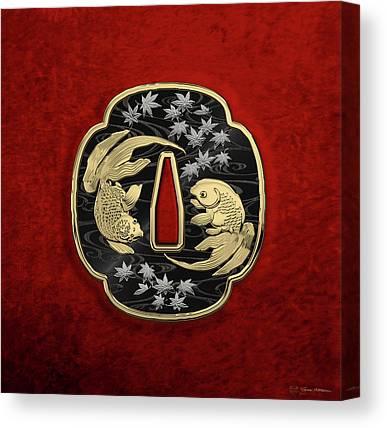 Samurai Canvas Prints