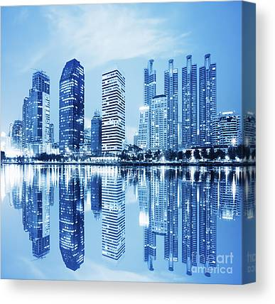 Metropolitan Canvas Prints