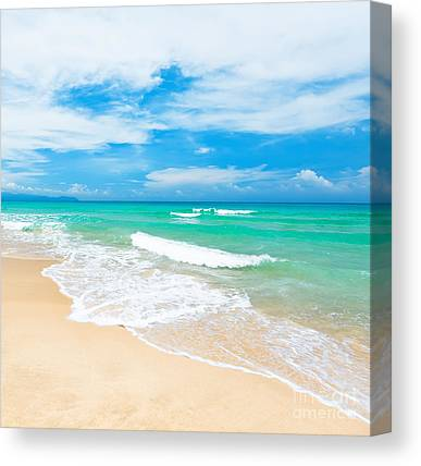 Hot Water Canvas Prints