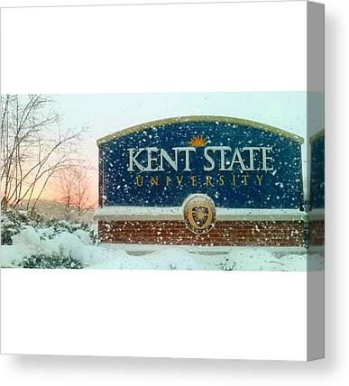 Kent State University Canvas Prints