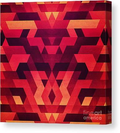 Love Triangle Canvas Prints
