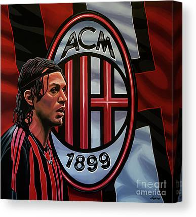 Ac Milan Canvas Prints