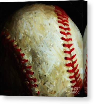 National League Digital Art Canvas Prints