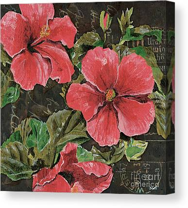 Hibiscus Canvas Prints