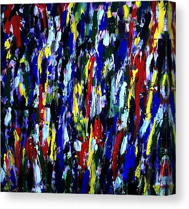 Splashy Art Canvas Prints