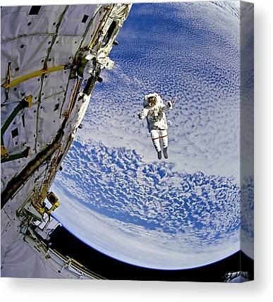 Space-craft Canvas Prints