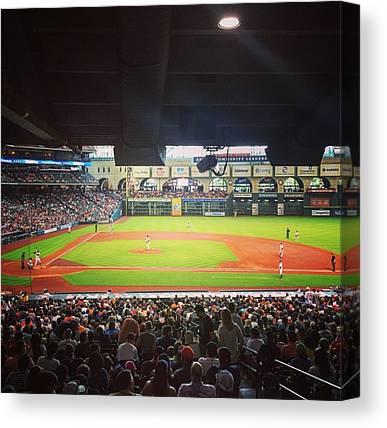 Houston Astros Canvas Prints