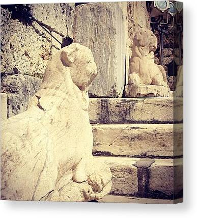 The Acropolis Canvas Prints