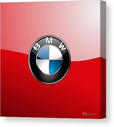 Bmw Logo Canvas Prints