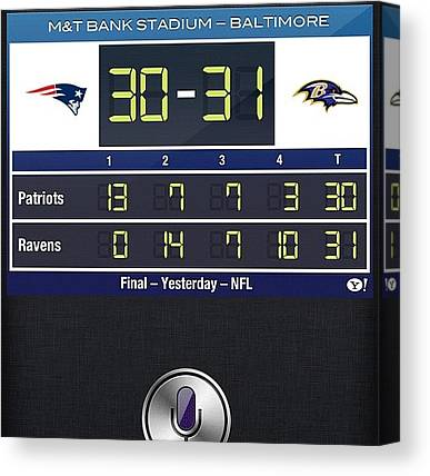Ravens Canvas Prints