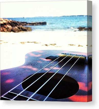 Ukuleles Canvas Prints
