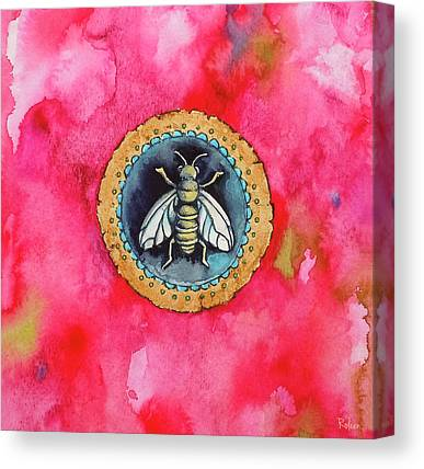 Bee Canvas Prints