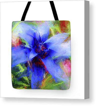 Bromeliad Mixed Media Canvas Prints