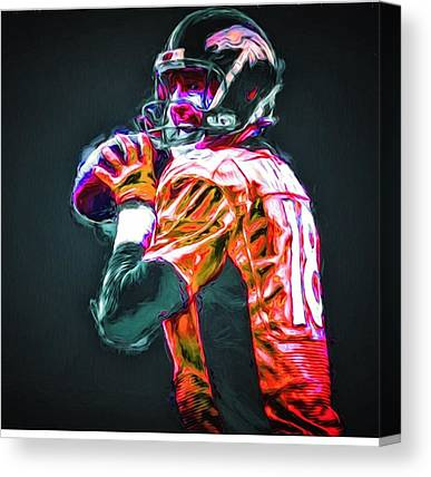 Football Players Canvas Prints