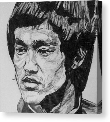 Kung Fu Canvas Prints