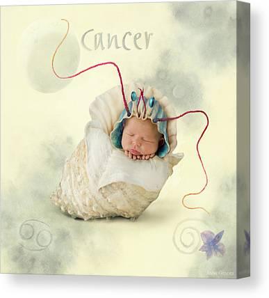 Cancer Photographs Canvas Prints
