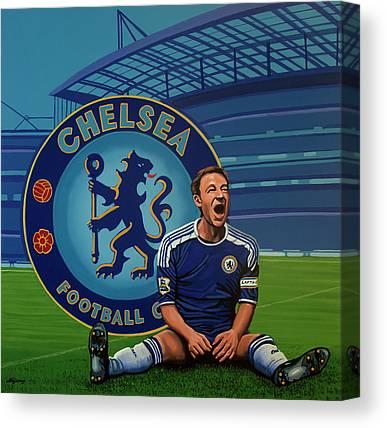 British Premier League Canvas Prints