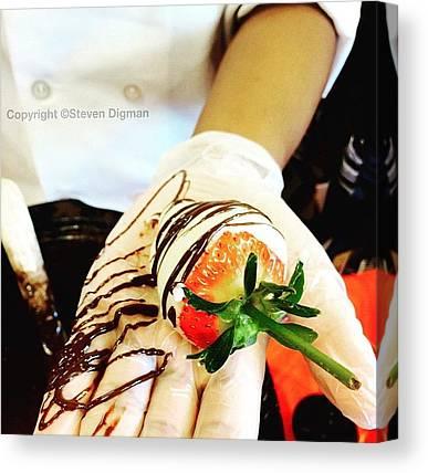 Strawberries Canvas Prints