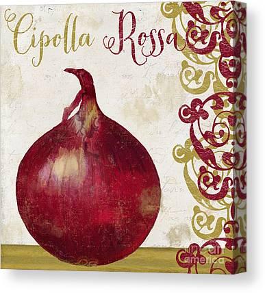 Bermuda Onion Canvas Prints