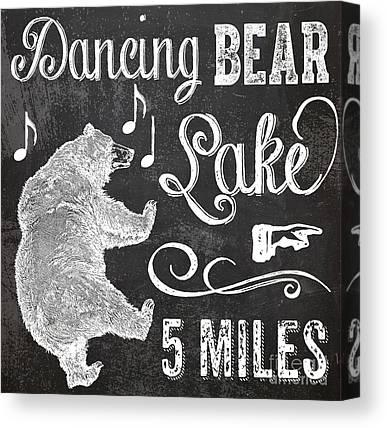 Bear Lake Canvas Prints
