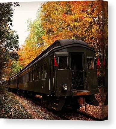Steam Trains Canvas Prints