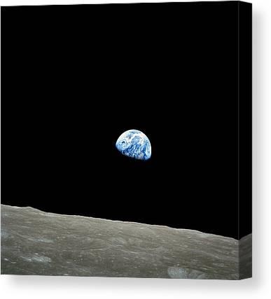 Pale Blue Dot Canvas Prints