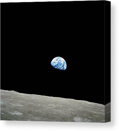 Spaceflight Photographs Canvas Prints