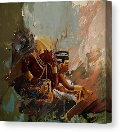 African Motifs Canvas Prints