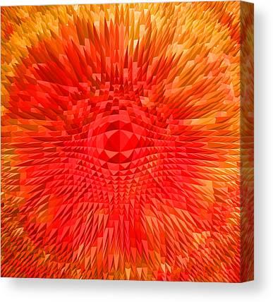 Basis-chakra Canvas Prints