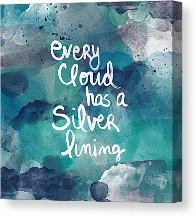 Clouds Mixed Media Canvas Prints