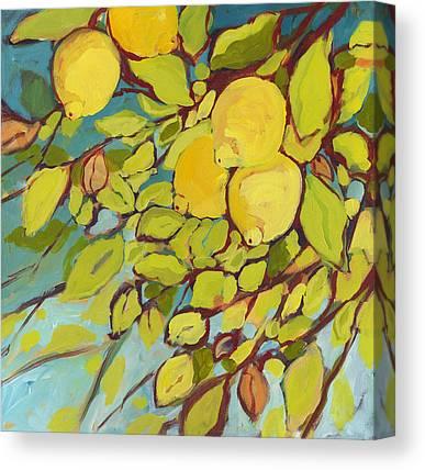 Lemon Canvas Prints