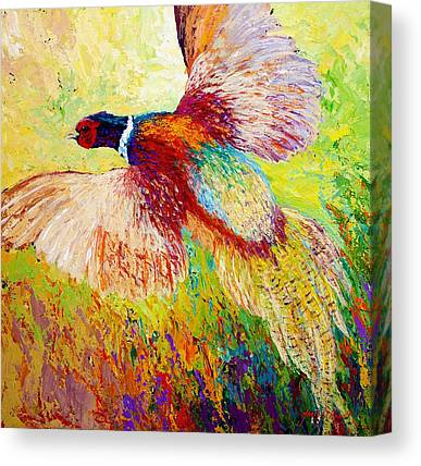 Pheasants Canvas Prints